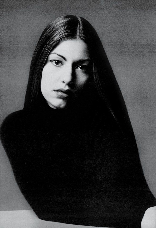 Sofia Coppola W Magazine, August 1993 Photo by Marc Hom