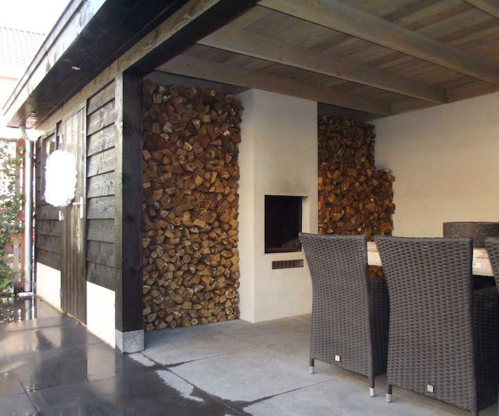 15 pins over veranda open haard die je moet zien openhaard op de veranda en veranda aanbouw - Veranda met stenen muur ...