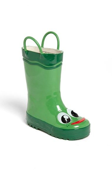 BOUGHT...Free shipping and returns on Western Chief 'Frog' Rain Boot (Toddler, Little Kid & Big Kid) at Nordstrom.com. A fun, frog-themed rain boot lets him plash from puddle to puddle. He'll smile as soon as it starts to pour.