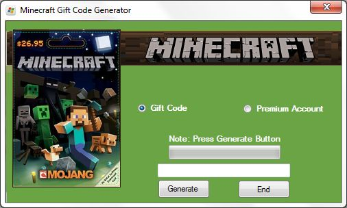 Today we have something special for you Minecraft Gift Code Generator. With the help of our minecraft gift code generator you will be able to send free