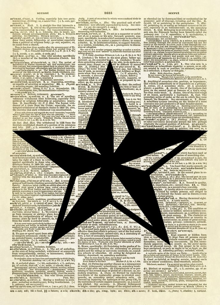 "This print features a two-toned five-pointed star - symbol of the ""Lone Star"" state of Texas in the United States. This five-pointed star is a popular icon for home decor. This is an amazing image pri"