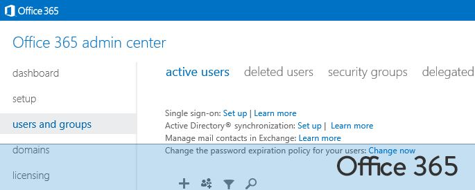 Search Office 365 Wave 15 by License Type
