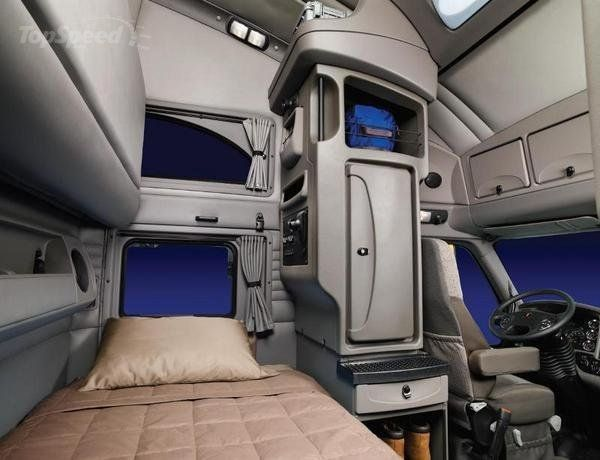 Kenworth Sleeper Cabs Interior View Bing Images