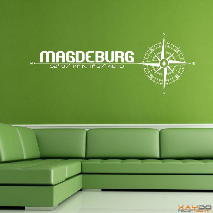 "Wandtattoo ""Stadt Magdeburg"" - ab 19,95 € | Xaydo Folientechnik"