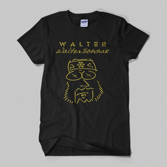 The Big Lebowski - Walter Sobchak 'Imagine' Movie T-shirt. The Dude Abides. by CowbellTees on Etsy https://www.etsy.com/listing/170091587/the-big-lebowski-walter-sobchak-imagine