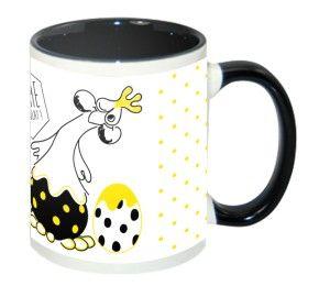 """Un joli mug de Pâques """"J'aime le chocolat"""""""