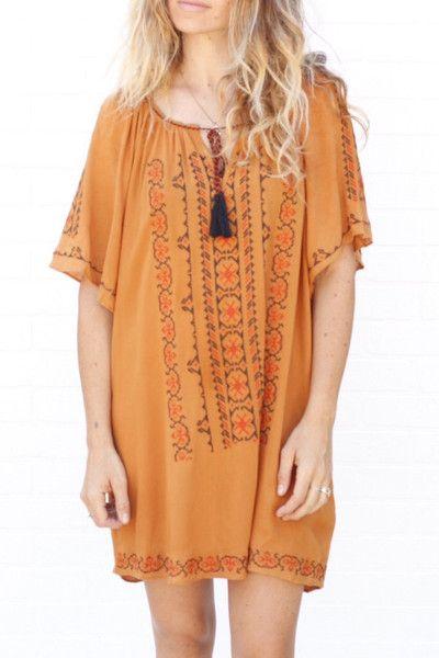 bristol Embroidered dress