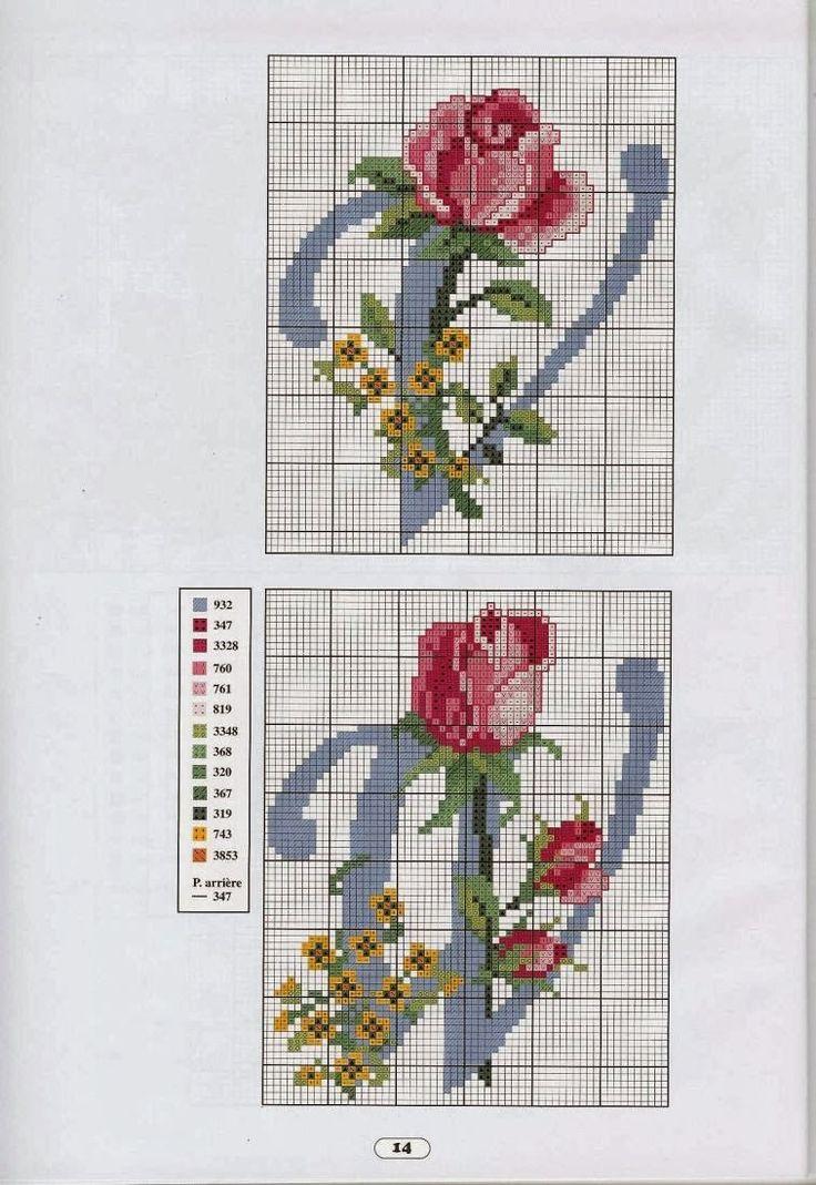 iniciales-con-rosas-8.jpg (757×1100)