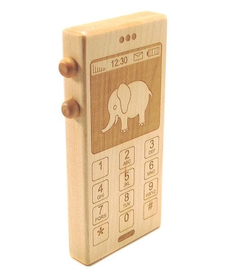 Wooden Phone Toy