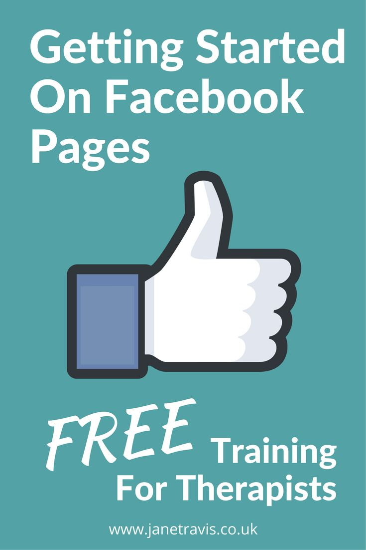 FREE tutorial for therapists: You KNOW Facebook is a great way to market your private practice... but how do you get started? Here's how to set up a Facebook page for your therapy business