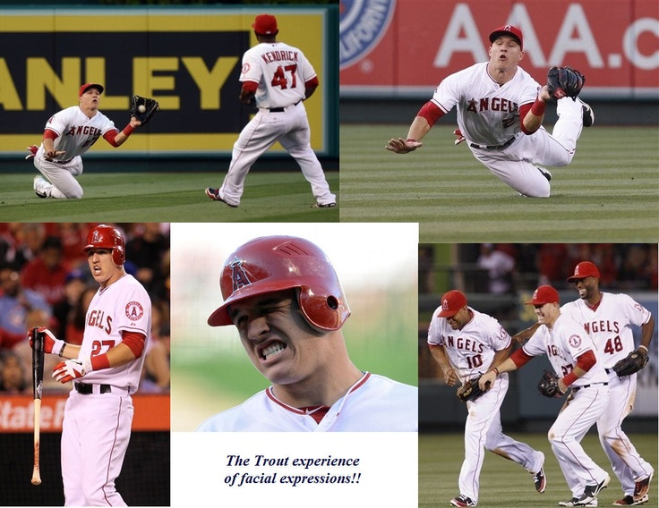 The many facial expressions of Mike Trout!Facials Express, Watches Baseball'S Mik, Man Mikey, Angels Angels, Anaheim Angels, Mike Trout 3 3, Baseball'S Mik Trout, Los Angels, Angels Baseball