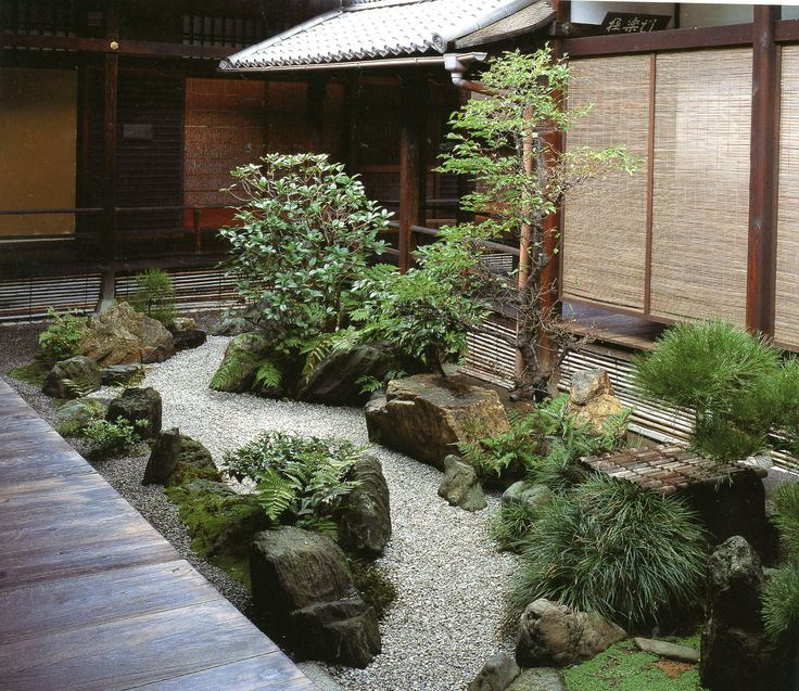 Kanchiin landscapes for small spaces japanese courtyard for Small japanese garden designs