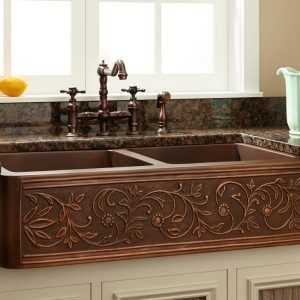 Antique Slate Kitchen Sink