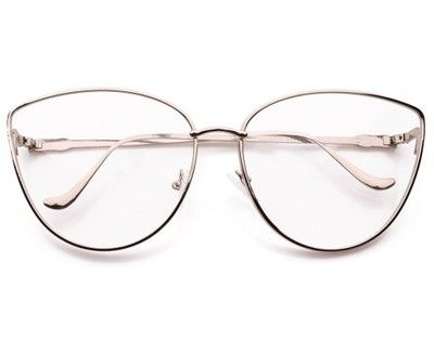 Kup teraz na allegro.pl za 59,99 zł - KOCIE OCZY ZERÓWKI okulary OPRAWKI Damskie Srebrne (6803623144). Allegro.pl - Radość zakupów i bezpieczeństwo dzięki Programowi Ochrony Kupujących!