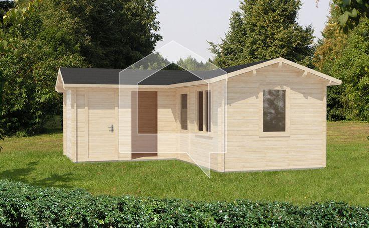 Domek w stylu holenderskim, którym chcemy tchnąć nowego ducha w polską kulturę drewnianych domków. Zaprojektowany tak, by wszystko było pod ręką.