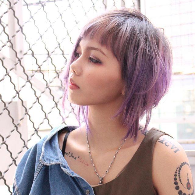 WEBSTA @ vjsih - #selfie #selca #girl #babae #tattoo #philippina #philippiness #svjasmin  #セルカ #自撮り #女 #フィリピン人 #フィリピン #タトゥー #刺青 #埼玉県民  #capsule #派手髪 #マニパニ