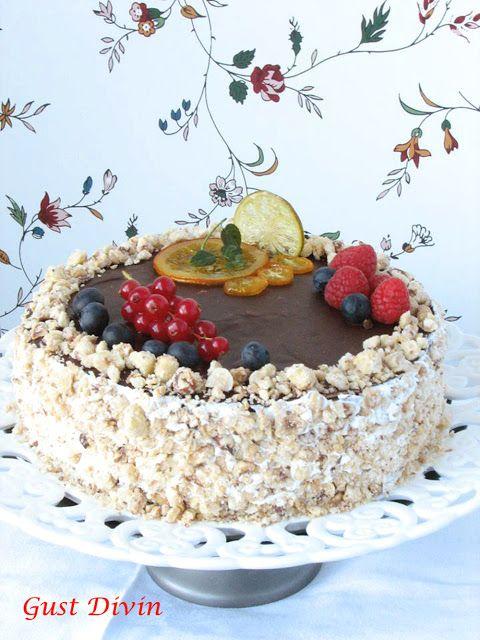 .: Tort festiv Orange-Chocolate