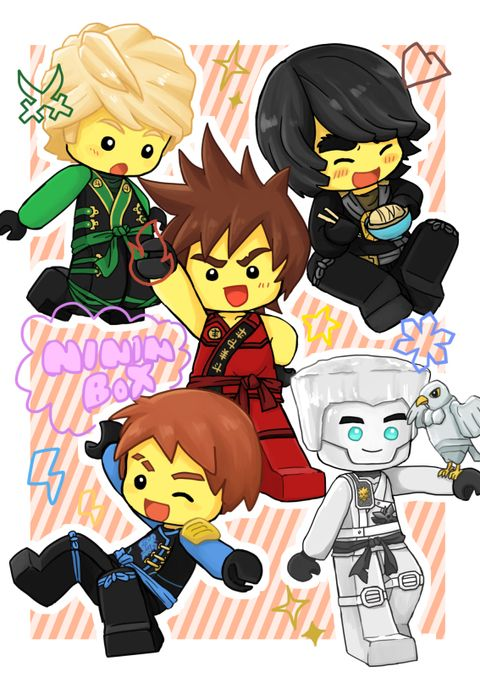 Chibi Ninjago! The cutest Lego ninjas you'll ever see!