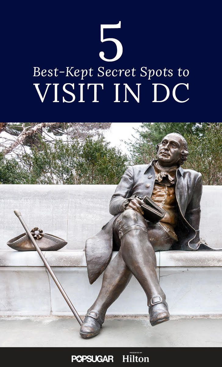 The 5 Best-Kept Secret Spots to Visit in DC, top secret sites in Washington DC, Washington DC, explore, city, Secret spots,