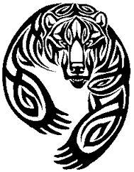 Résultats de recherche d'images pour «tatouage celtic ours»