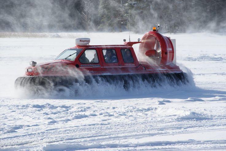 Sommaröstrand Wilma ilmatyynyalus #Finland