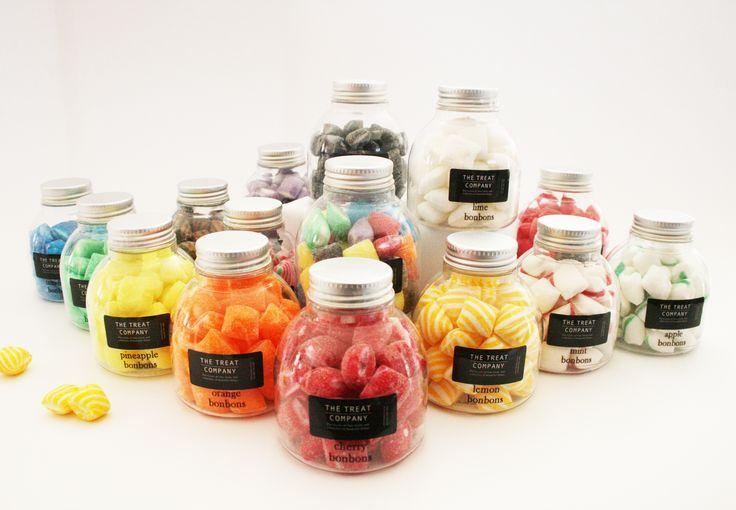 Bonbons in inkpot jars 150g