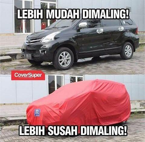 Amankan Mobil Anda dari Maling dengan Cover Mobil