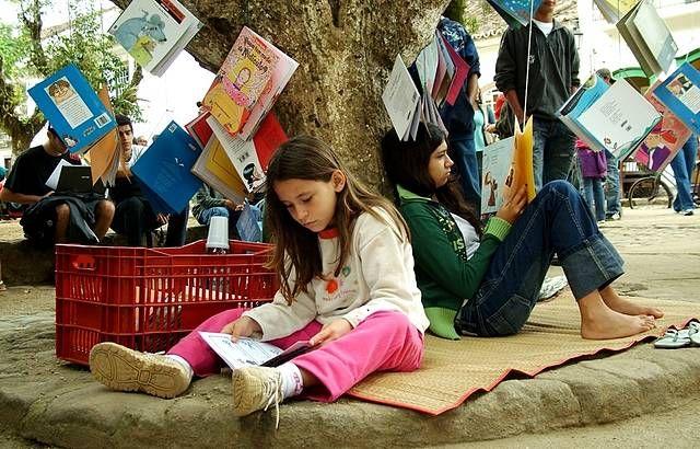A Arena Carioca Dicró recebe autores que participam da Feira Literária Internacional de Paraty