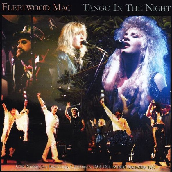 """Congratulations Fleetwood Mac, celebrating the 30th anniversary of this release """"Tango In The Night"""" which theyʻve digitally reissued; and itʻs the 40th anniversary of the Rumours release! #billyvradioshow #bvrs #alohafriday #80ʻsMusic"""
