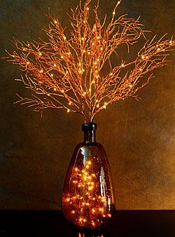 Copper auburn lights