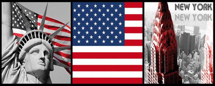 USA, LOT DE 3 DECO USA PATRIOTIC, SOCLE PIED POUR DRAPEAU, lot de 50 ballons tricolore, ETOILE USA, NOEUD PAPILLON USA AMERIQUE