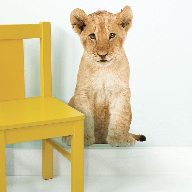 KEK Amsterdam Wandtattoo Baby Löwe online kaufen ➜ Bestellen Sie Wandtattoo Baby Löwe für nur 19,95€ im design3000.de Online Shop - versandkostenfreie Lieferung ab €!