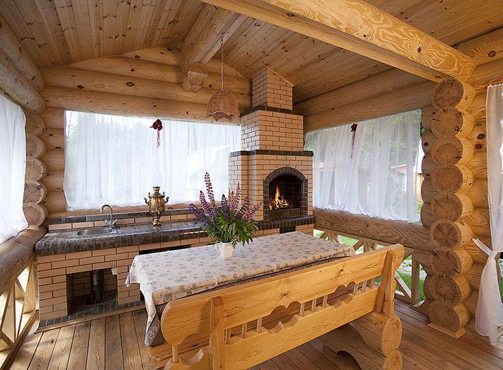 Бревенчатый коттедж из архангельской сосны диаметром 300 мм | Дома из оцилиндрованного бревна | Журнал «Деревянные дома»