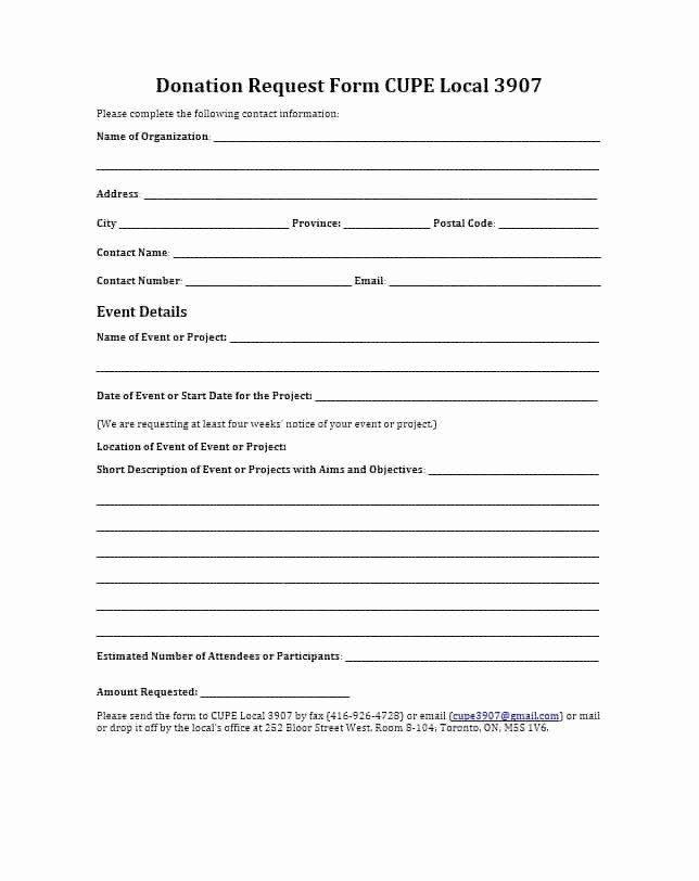 Pto Request Form Template Inspirational 12 13 Pto Request Template Donation Request Form Donation Request Donation Form
