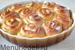 Апельсиновые булочки со сливочной заливкой / Меню недели
