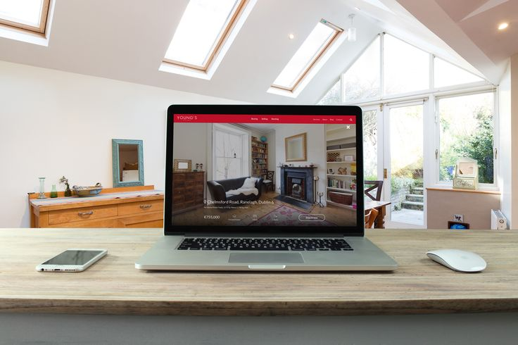 When people walk into a house they begin to fall in love with it. By taking all of the clutter away I want to allow people to be drawn into the image and feel like they are in the room. I hope people get that same sense of excitement and intrigue that they do when they walk through the front door.  #WordPress #webdesign #realestate #property #Dublin #Ireland