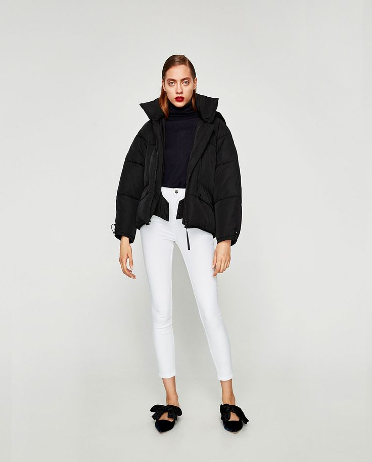 Image 1 of HIGH-RISE SKINNY FIT JEANS from Zara