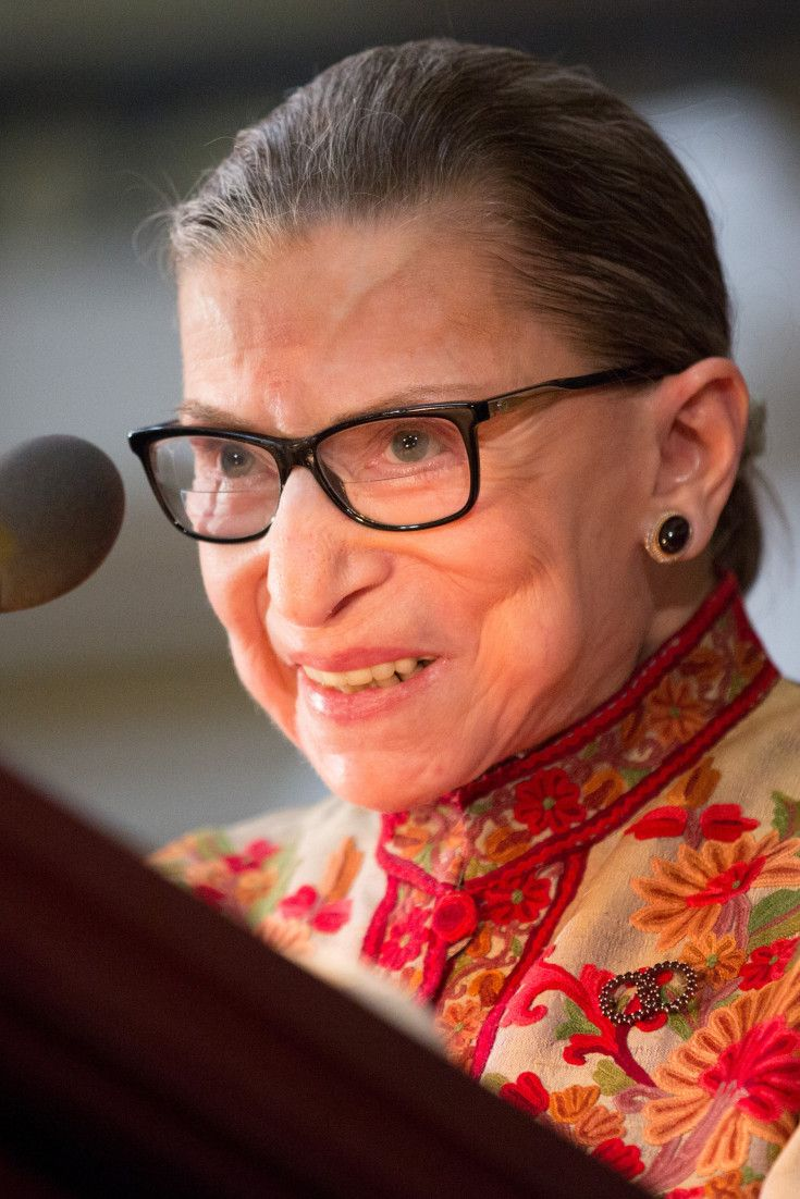 Ruth Bader Ginsburg Officiates Another Same-Sex Wedding, Gives A Special Shout-Out To The U.S. Constitution