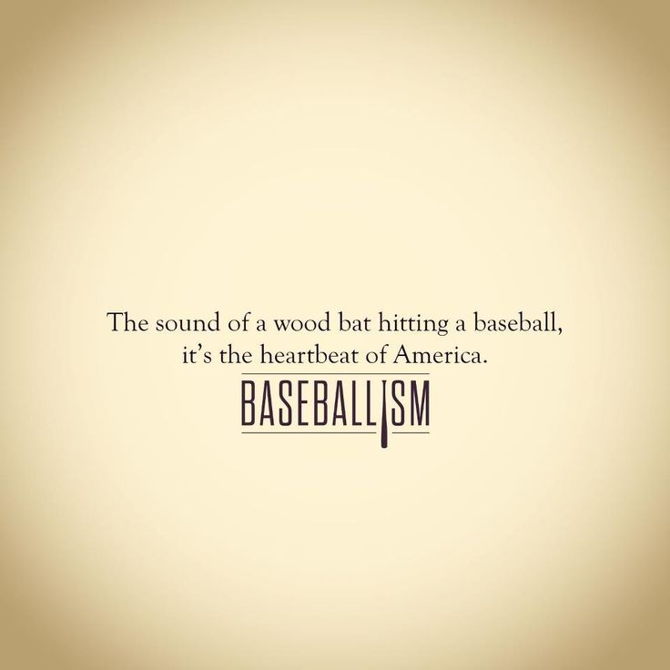 Baseball, love the sound of a bat making contact with the ball making a great hit
