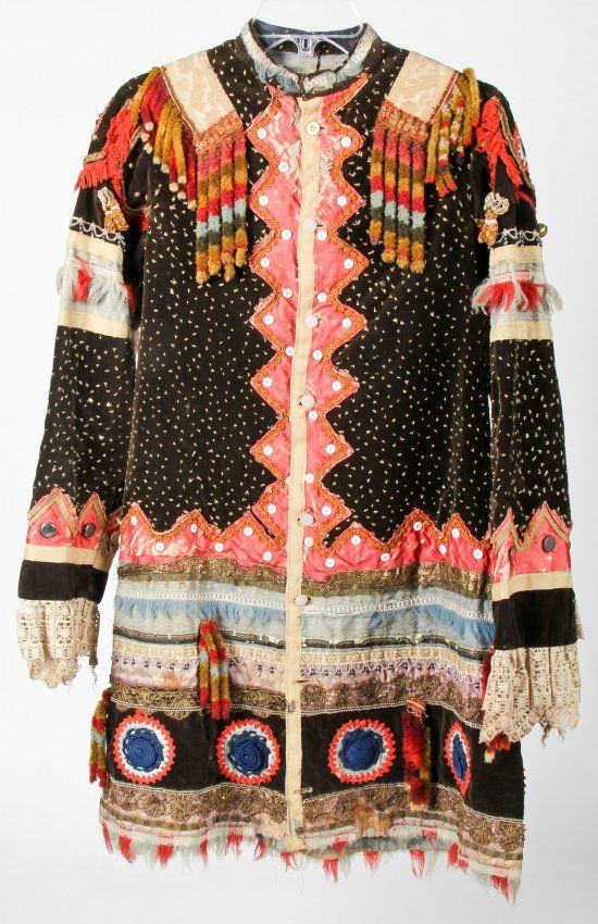 Leni Lenape Wedding Coat 19th C:  http://www.liveauctioneers.com/item/29285396_important-19th-c-leni-lenape-wedding-coat