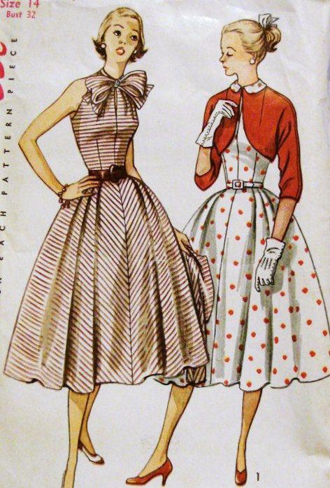 Best 25  Vintage dress patterns ideas on Pinterest