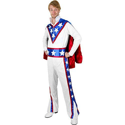 Here are Evel Knievel Halloween Costumes. Going to a 70's themed costume party? Or do you just feel like dressing up as Evel Knievel for Halloween?