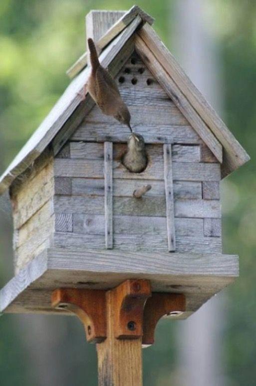 Rustic Birdhouse ....