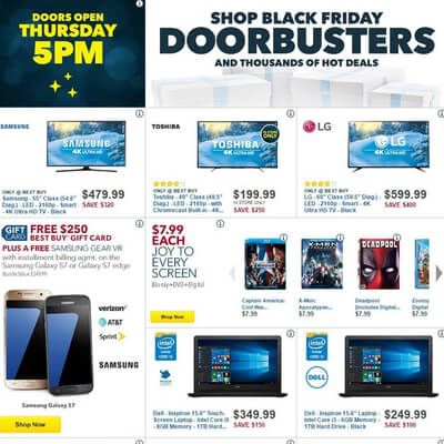View the Best Buy Black Friday 2016 Ad with Best Buy deals and sales