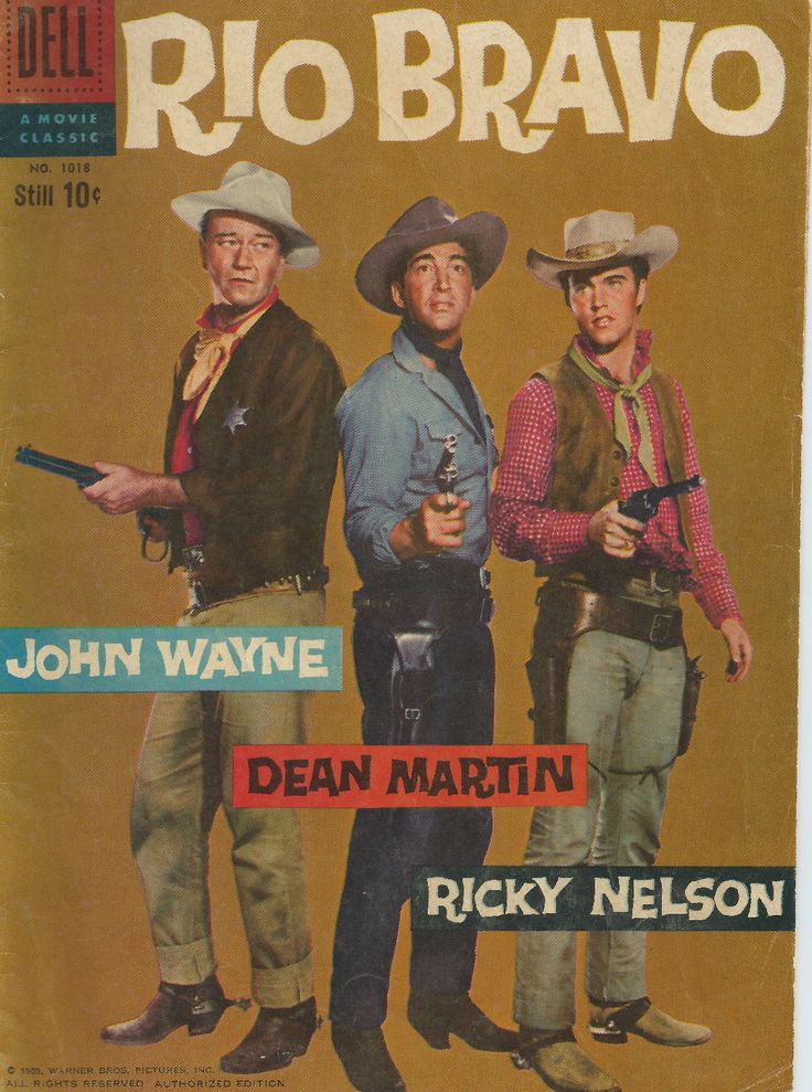 RIO BRAVO (John Wayne, Dean Martin, Ricky Nelson) One of the Greatest Westerns Films Ever