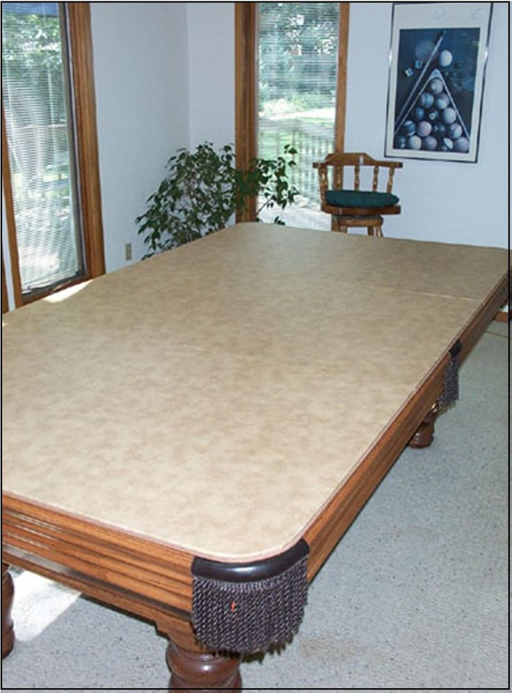 Hard Top Billiard Table Cover, Pool Table Cover