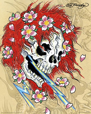 Red Head by Ed Hardy