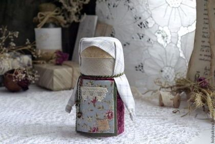 """Народные куклы ручной работы. Ярмарка Мастеров - ручная работа. Купить кукла-оберег Домовушка """"Розочка"""".. Handmade."""