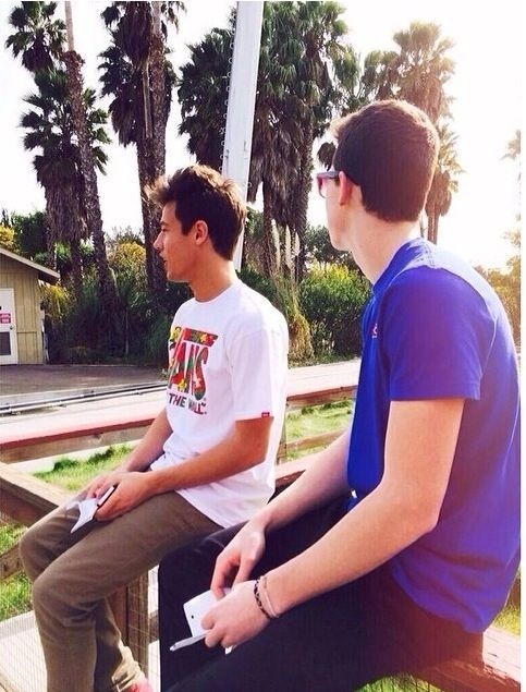 Shawn Mendes and Cameron Dallas; my two favorite people