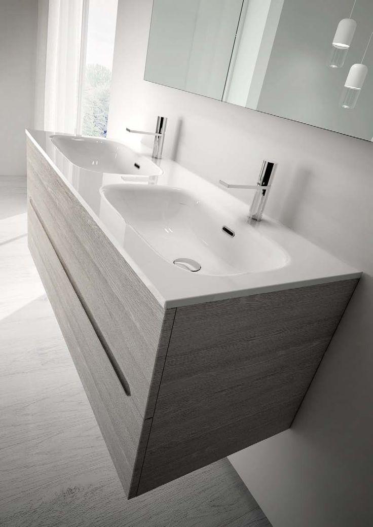 Oltre 25 fantastiche idee su doppio lavabo da bagno su - Doppio lavello bagno ...